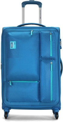 VIP Stax 4W Exp Strolly Expandable  Cabin Luggage - 22 inch(Blue)