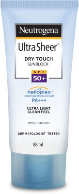 NEUTROGENA Ultra Sheer Dry - Touch Sunblock - SPF 50 PA+++(88 ml)