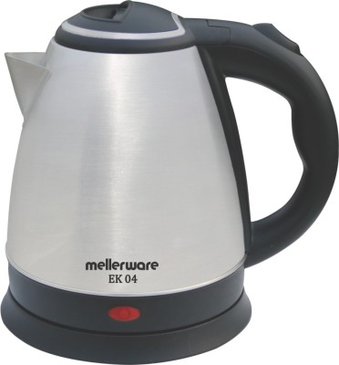 Mellerware EK 04 Electric Kettle (1.5 L, Silver, Black)