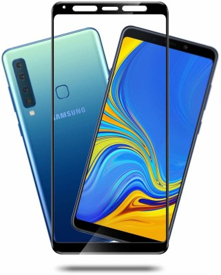Qawachh Screen Guard for 6D Tempered Glass Full Screen for Samsung Galaxy A9 (2018) /A9 Star /A9 Star Pro (With Wipes kit) (Pack of 2)(Pack of 1)