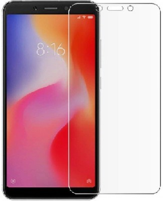 Zivoly Edge To Edge Tempered Glass for screen protector for redmi 6a, Tempered Glass Screen Protectors for redmi 6a, Mi Redmi 6A(Pack of 1)