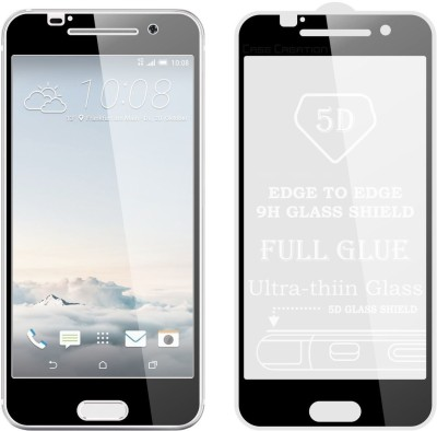 Case Creation Edge To Edge Tempered Glass for HTC OneA9(Pack of 1)