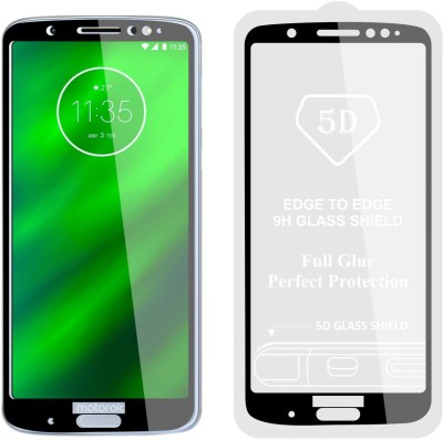 Case Creation Tempered Glass Guard for Motorola Moto G6 Plus (6th Gen)(Pack of 1)