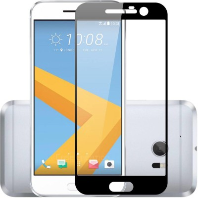 Case Creation Edge To Edge Tempered Glass for HTC 10 Dual SIM(Pack of 1)