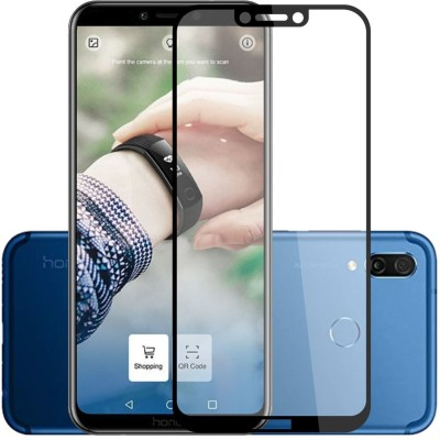 Case Creation Edge To Edge Tempered Glass for Honor Play 2018(Pack of 1)