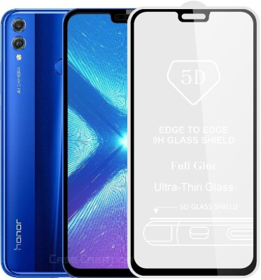Case Creation Edge To Edge Tempered Glass for Huawei Honor 8X (6.50 inch)(Pack of 1)