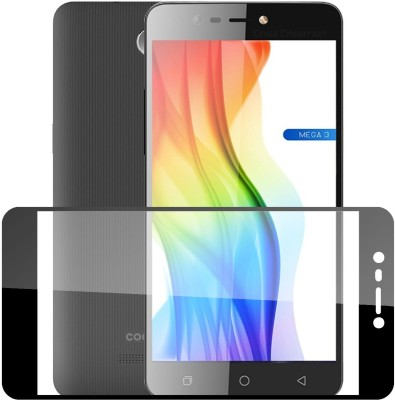 Case Creation Edge To Edge Tempered Glass for Coolpad Mega 3 2016(Pack of 1)