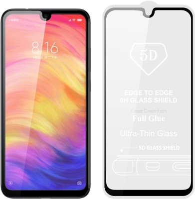 Case Creation Edge To Edge Tempered Glass for Mi Redmi Note 7, Mi Redmi Note 7 Pro, Mi Redmi Note 7S(Pack of 1)