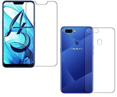 FIRST MART Front and Back Screen Guard for OPPO A5, Oppo A3s, Realme 2, Realme C1(Pack of 1)