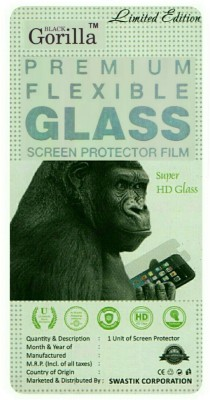 BLACK GORILLA Tempered Glass Guard for Micromax Canvas KNIGHT A350(Pack of 1)