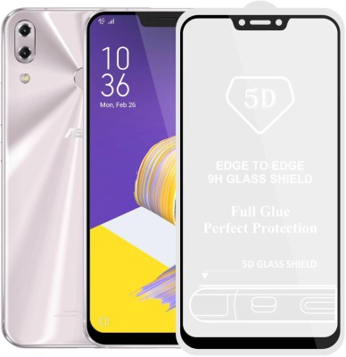 Case Creation Edge To Edge Tempered Glass for Asus Zenfone 5z (ZE620KL)(Pack of 1)