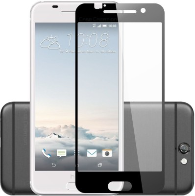 Case Creation Tempered Glass Guard for HTC One A9 5.0 inch 2015(Pack of 1)