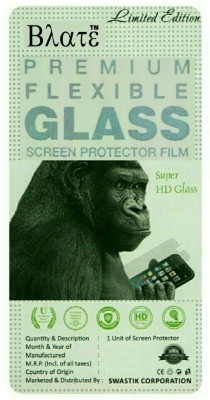 Blate Tempered Glass Guard for Micromax Bolt A069(Pack of 1)