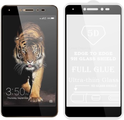Case Creation Edge To Edge Tempered Glass for Coolpad Note 5 Lite 2017(Pack of 1)