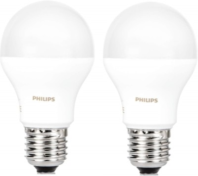 Philips 17 W Standard E27 LED Bulb (White, Pack of 2)