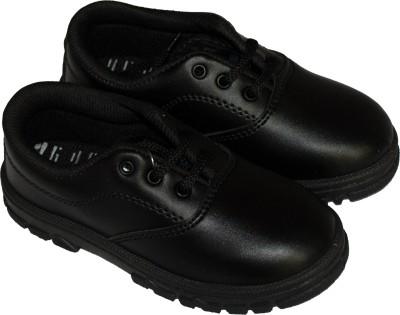 Plasma Boys Lace Derby Shoes Black
