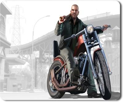 Flair Print Grand Theft Auto 5 FPMP057 Mousepad(Multicolor)