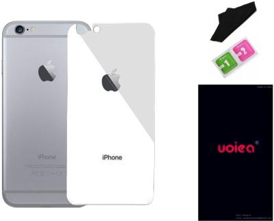 uoiea Back Tempered Glass for Apple iPhone 6 Plus(Pack of 1)