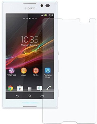 VaiMi Tempered Glass Guard for Sony Xperia C(Pack of 1)