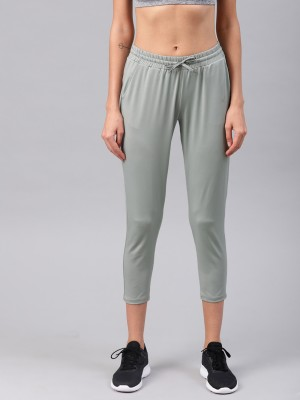 HRX by Hrithik Roshan Women Grey Capri at flipkart