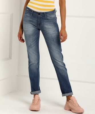 Flying Machine Regular Women Blue Jeans at flipkart