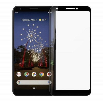 Cover Alive Edge To Edge Tempered Glass for Google Pixel 3A(Pack of 1)