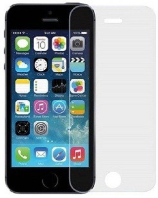 KmPPoWER Tempered Glass Guard for Apple iPhone 5s(Pack of 1)