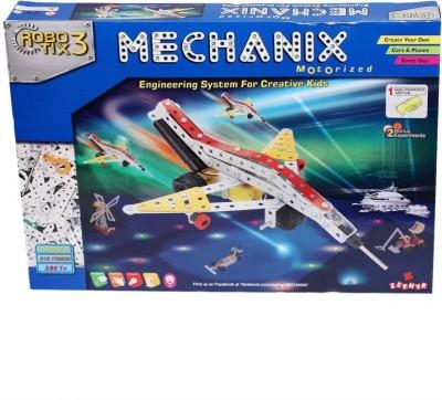 ZEPHYR Metal Mechanix Robotix 3  Motorised  by Party Shopping Multicolor ZEPHYR Blocks   Building Sets