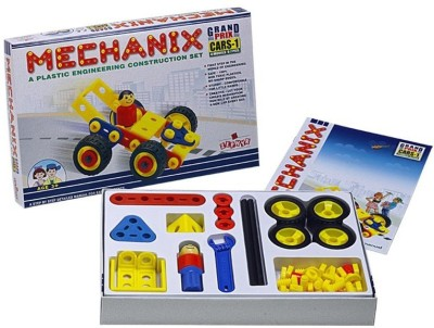 Zephyr Plastic Mechanix Cars 1 by Party Shopping Multicolor