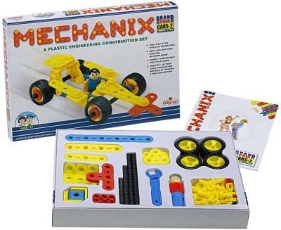 ZEPHYR Plastic Mechanix Cars 2 by Party Shopping Multicolor ZEPHYR Blocks   Building Sets