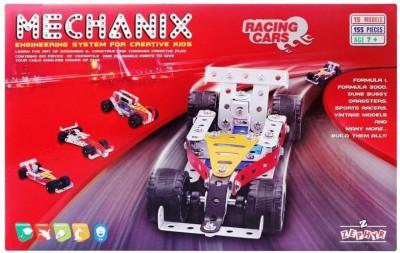 ZEPHYR Mechanix Racing Car Multicolor ZEPHYR Blocks   Building Sets