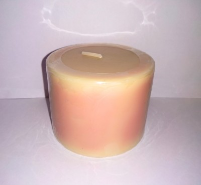 Live In Bliss Vanilla Aroma Candle Candle(Beige, Pack of 1)