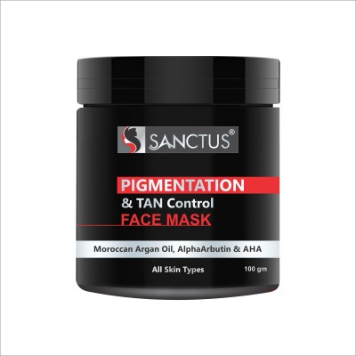 SANCTUS Pigmentation & TAN Control Face Mask - 100gm(100 g)