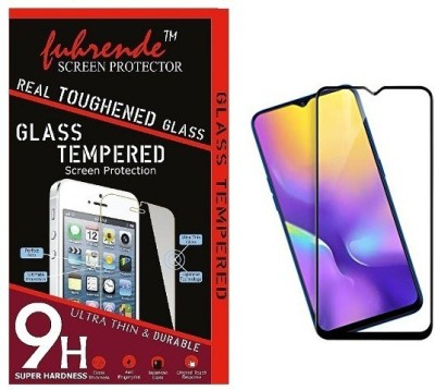 Fuhrende Edge To Edge Tempered Glass for Vivo y17 6D Black(Pack of 1)