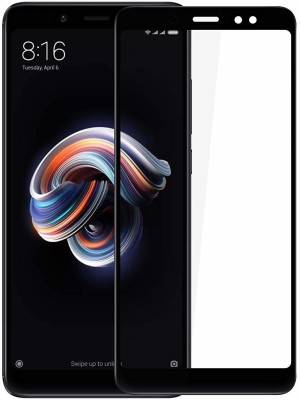 Buynow Edge To Edge Tempered Glass for 6D Glass, Black), Mi Redmi Note 4 (9H Full Glue(Pack of 1)