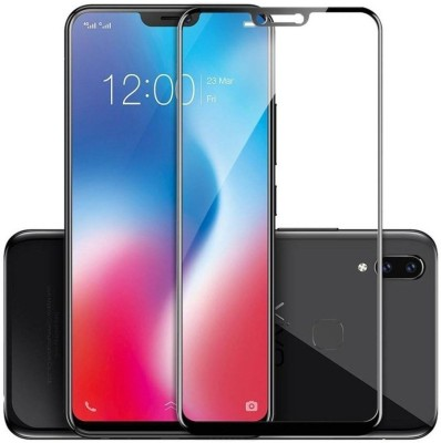KHR Tempered Glass Guard for Vivo V9 Pro Full glue 11D Tempered Glass Screen Protector Hardness-Scratch-resistant Tempered Glass(Pack of 1)