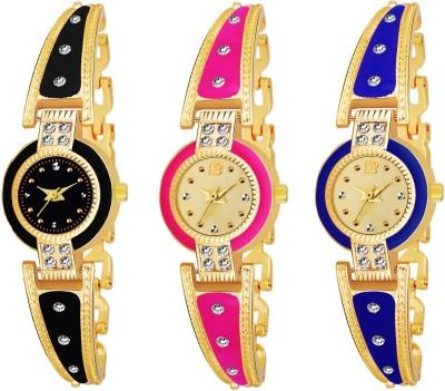 True Colors TC_130142 NEW ARRIVA RAJVADI BANG E PACK OF 3 Analog Watch  - For Women