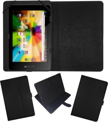 Fastway Flip Cover for BSNL Penta T-Pad IS801C(Black, Cases with Holder)