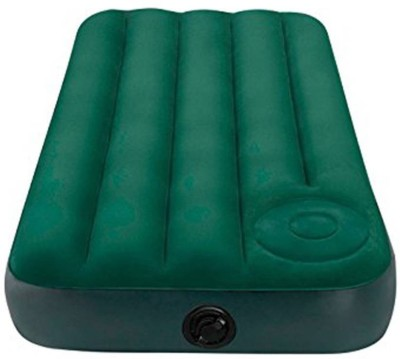 Rls Solutions PP 1 Seater Inflatable Sofa(Color - Green)