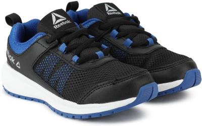 REEBOK Boys Lace Running Shoes Black REEBOK Sports Shoes