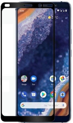 Kavacha Edge To Edge Tempered Glass for Samsung Galaxy A70(Pack of 1)