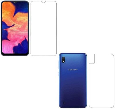PR SMART Front and Back Tempered Glass for Samsung Galaxy A10, Samsung A10, (Flexible)(Pack of 1)