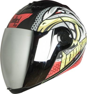 Steelbird SBA-2 Superwings Motorbike Helmet(Red)