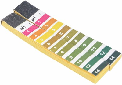 Parshv P.H. [Universal] Indicator Paper [1.0-14.0] Wide range 10 strips x 20 leaves Ph Test Strip(1 - 14)