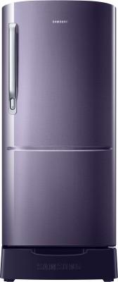 Samsung 192 L Direct Cool Single Door 3 Star Refrigerator(Rose Mallow Black, RR20N1Y2ZB3-HL/RR20N2Y2ZB3-NL)