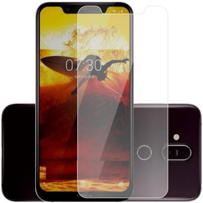 Kmp pOwer Tempered Glass Guard for Nokia 8.1(Pack of 1)