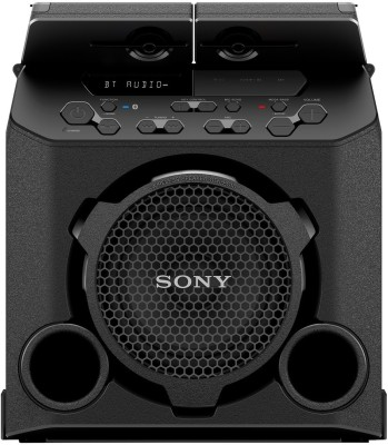 SONY GTK-PG10 With Built-In Battery Bluetooth Party Speaker(Black, 2.0 Channel)