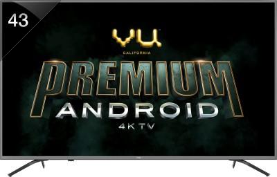 Vu 108cm (43 inch) Ultra HD (4K) LED Smart Android TV
