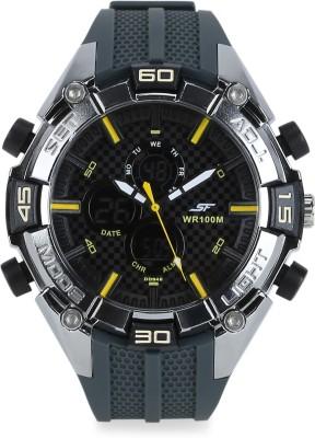 SONATA NH77028PP01J Superfibre Analog Digital Watch   For Men SONATA Wrist Watches