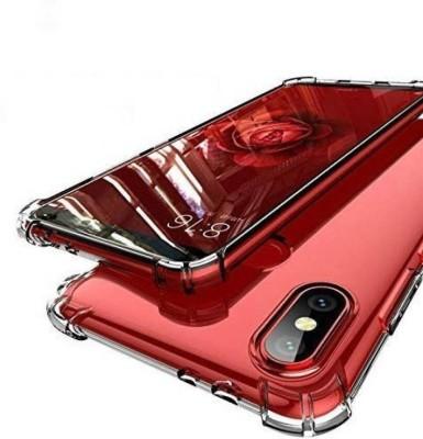 DSCASE Back Cover for Mi Redmi Note 7 Pro, Mi Redmi Note 7, Mi Redmi Note 7S(Transparent, Shock Proof, Silicon)